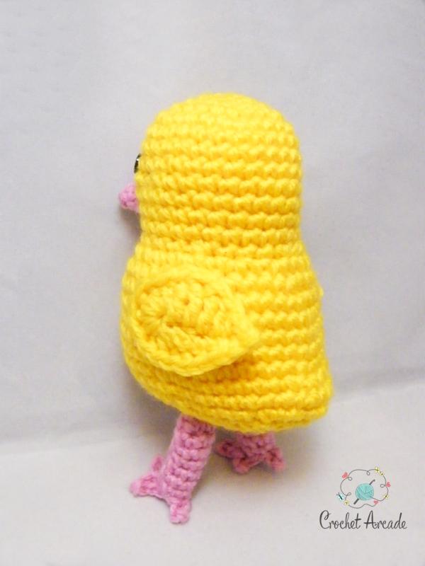 Amigurumi Baby Chick Pattern : Easter Crochet Baby Chick Amigurumi Pattern Crochet Arcade