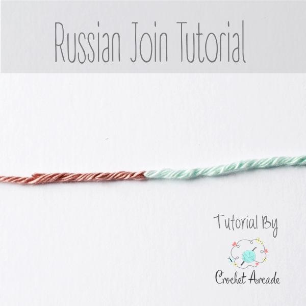 Knit Picks Russian Join : Joining new yarn russian join tutorial crochet arcade