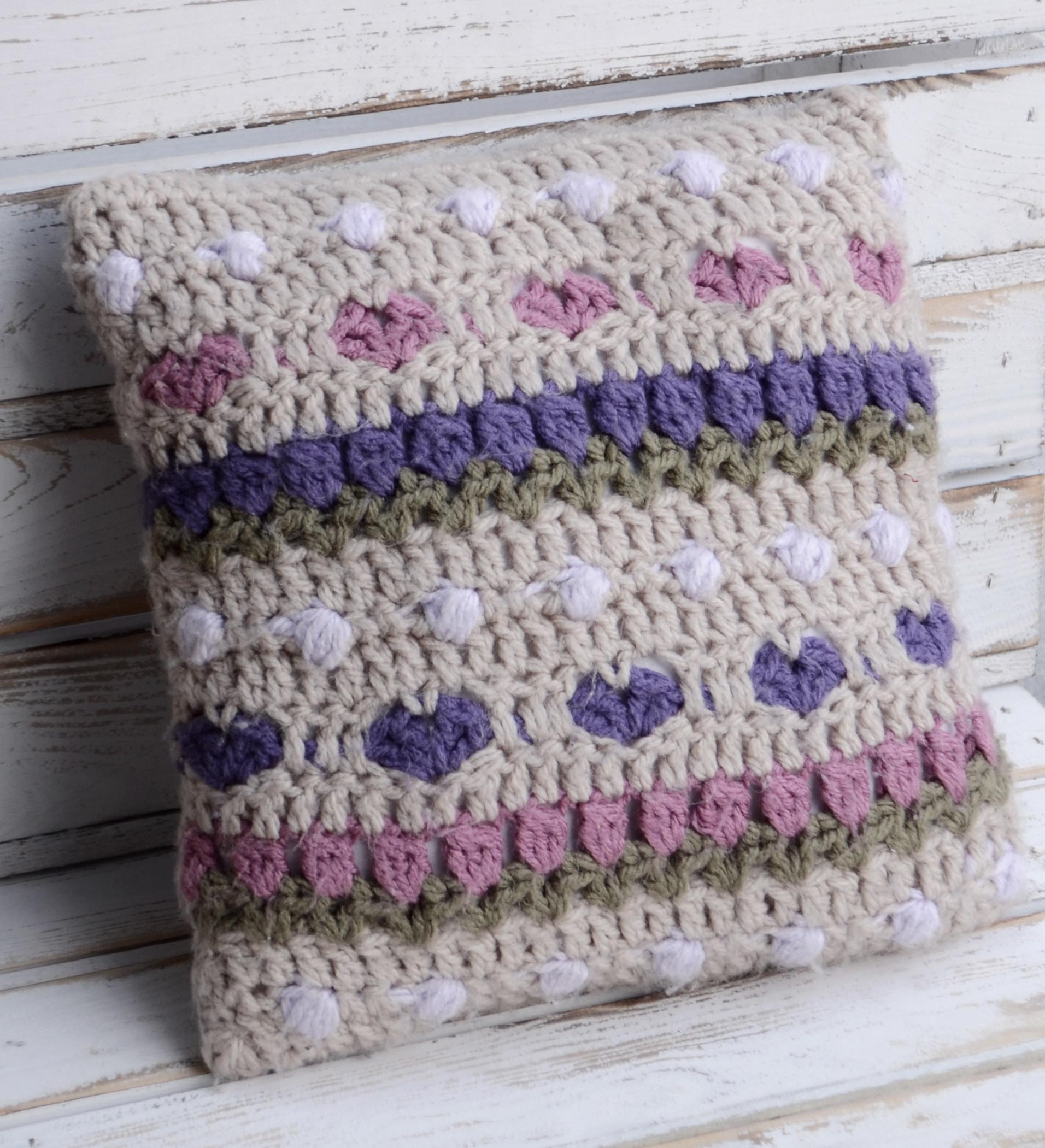 Crochet Tulip Pillow Crochet Arcade