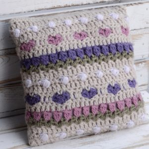 Crochet Tulip Pillow