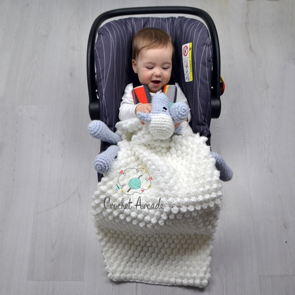 Cuddle And Play Sheep Crochet Blanket Crochet Arcade