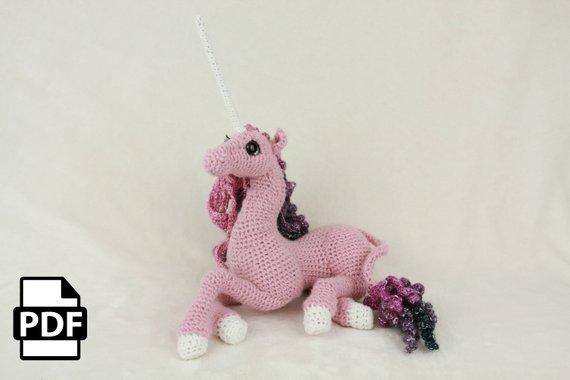 Horse Amigurumi Crochet Tutorial Part 1 - YouTube | 380x570