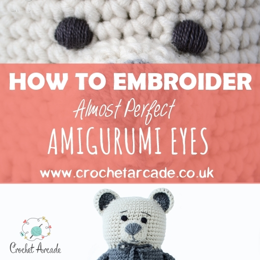 Faces for Amigurumi Part 1: Using Safety Eyes And Simple Embroidery · How  To Embroider · Yarncraft on Cut Out + Keep | 530x530