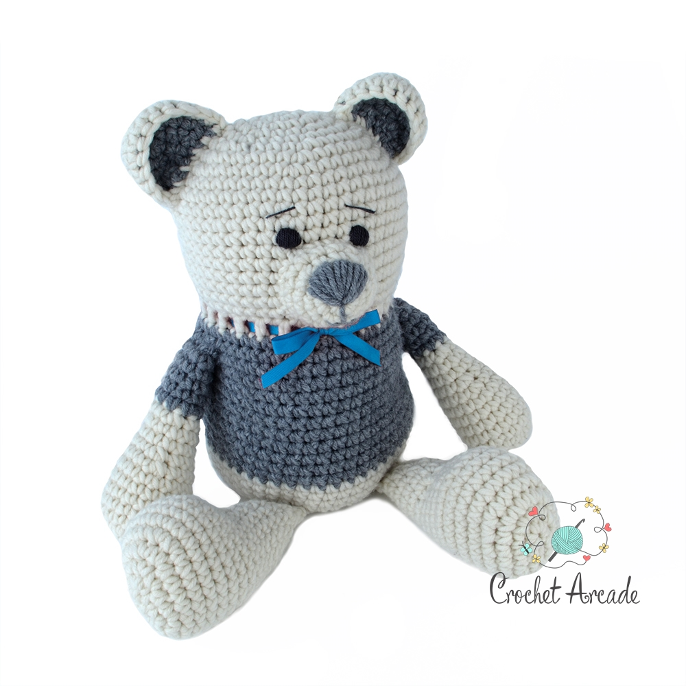 Crochet Teddy Bear Blanket, Personalised Baby Blanket, Bear Lovers ... | 1000x1000