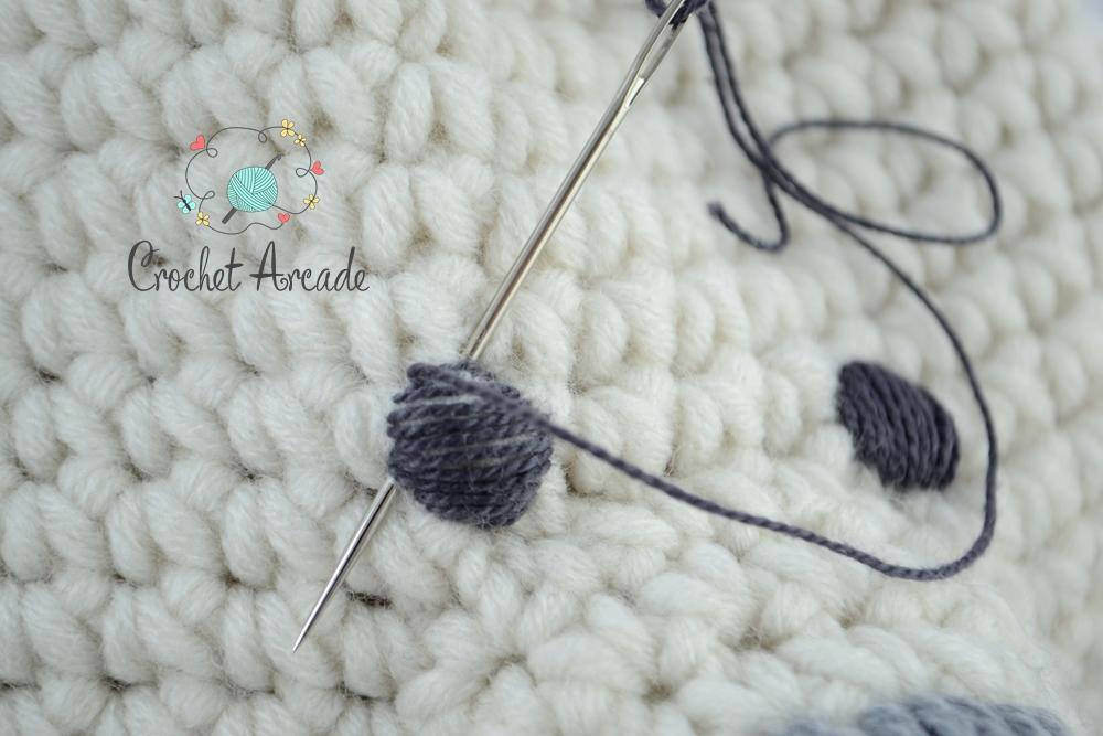 EYES for Amigurumi Dolls Amigurumi Pattern Crochet Doll | Etsy | 667x1000