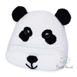 Panda Book Tablet Holder Crochet Pattern