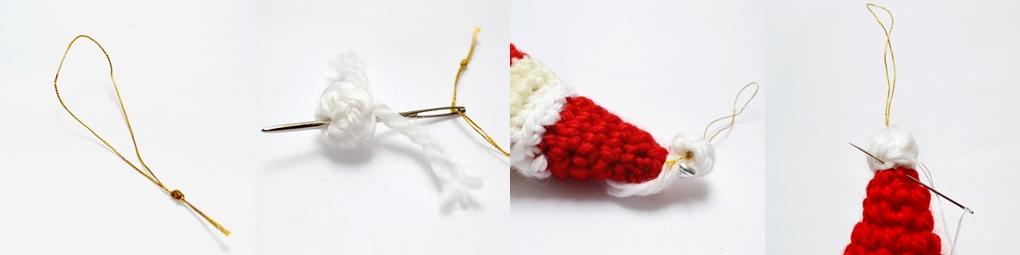 santa claus free crochet pattern tutorial