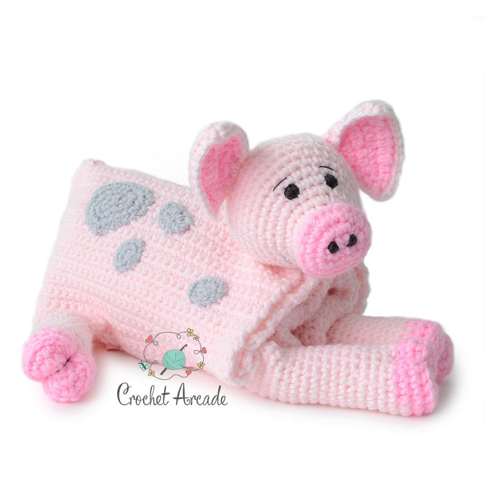 Ravelry: Pig Amigurumi CAL pattern by Brenna Eaves | 1000x1000