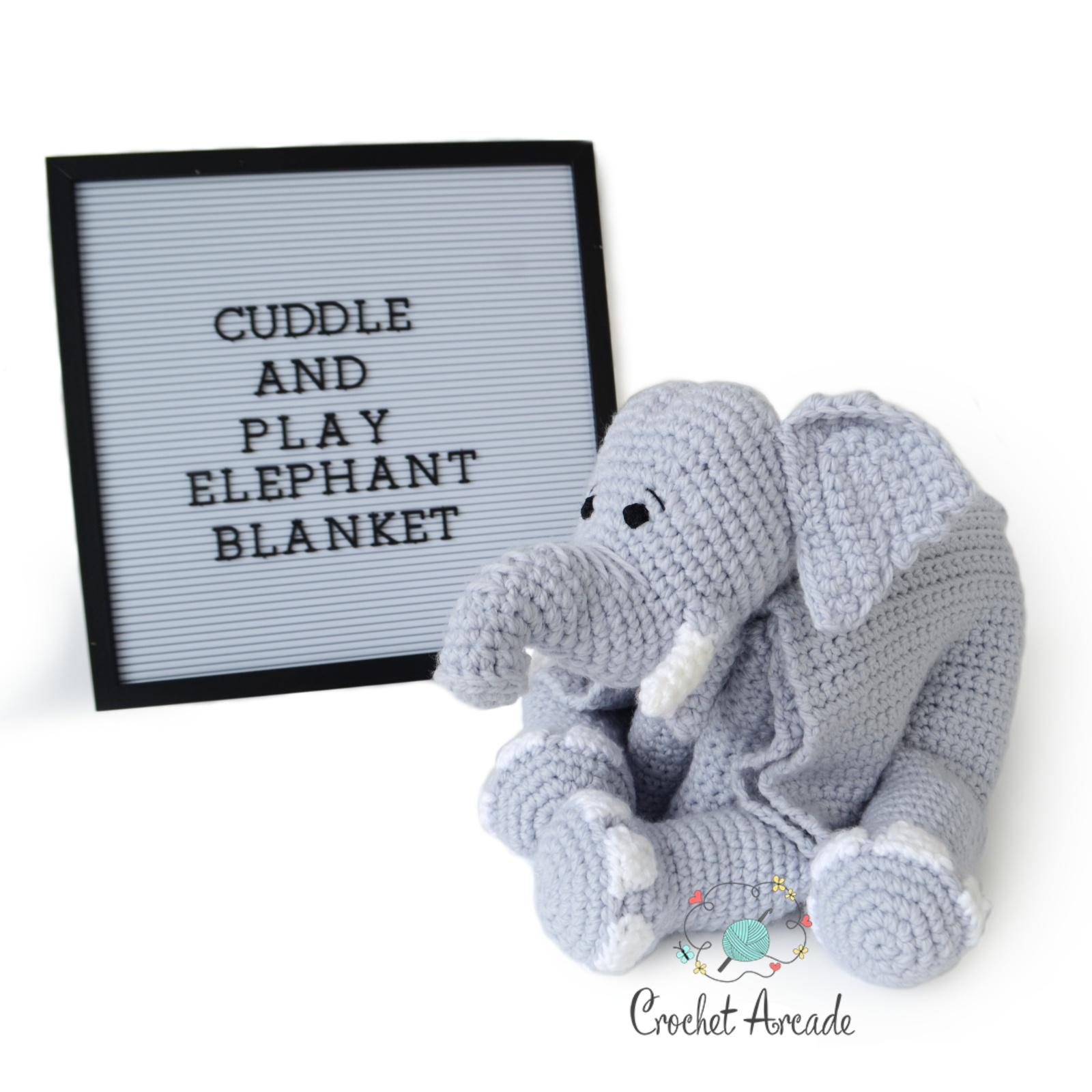Cuddle Me Elephant crochet pattern - Amigurumi Today | 1600x1600
