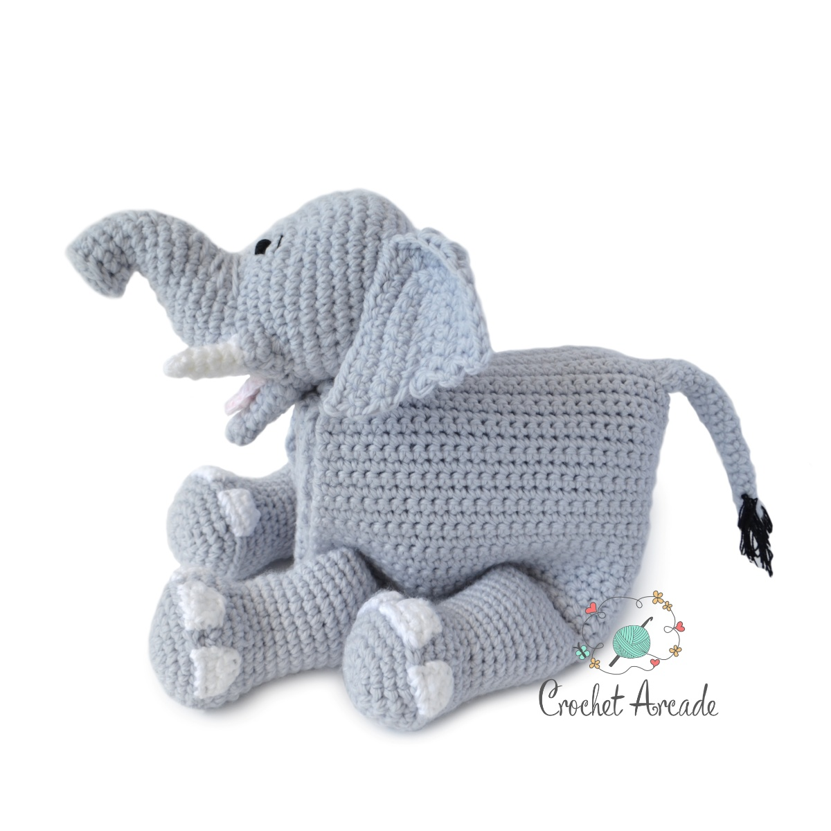 Cuddle And Play Elephant Baby Blanket Crochet Pattern Crochet Arcade