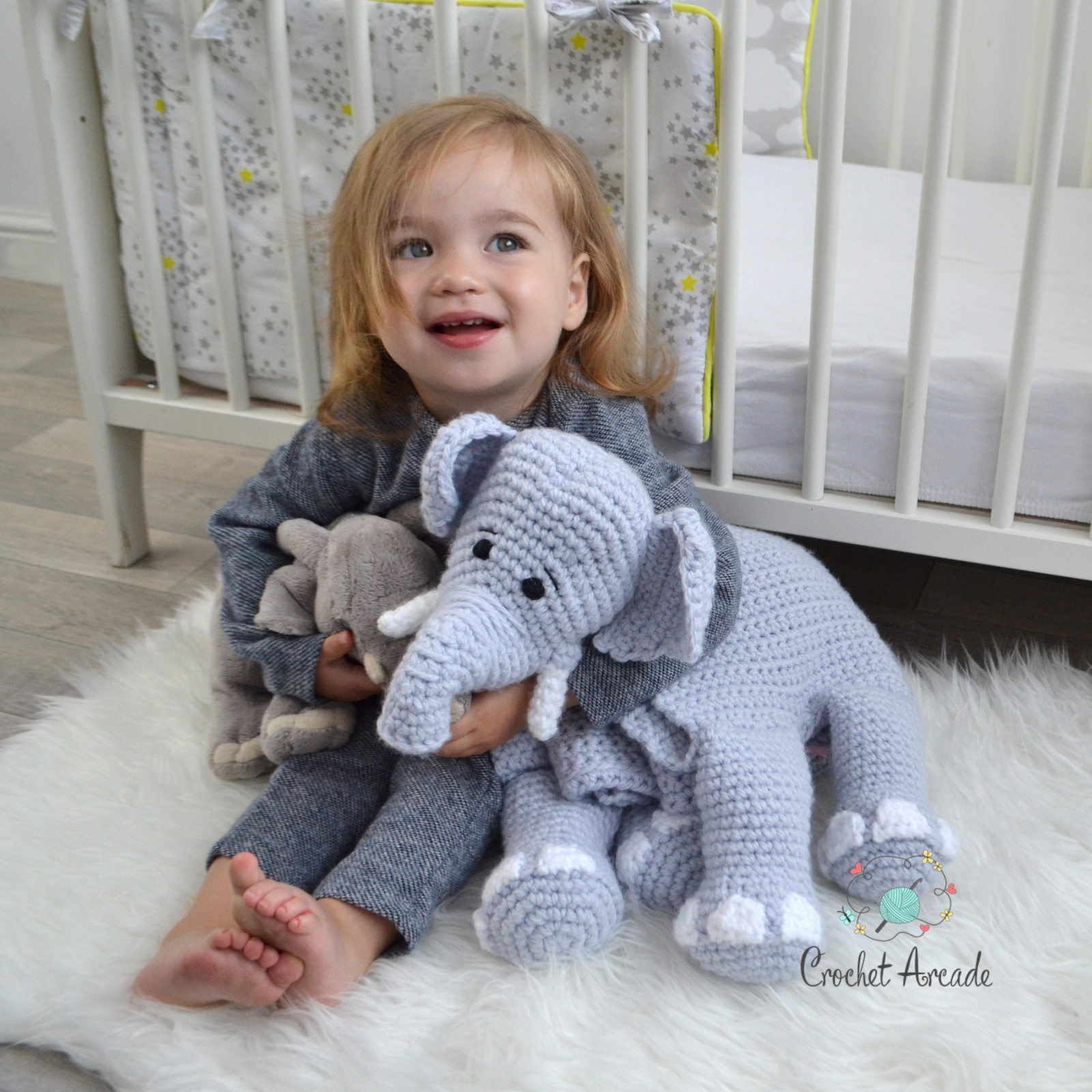 Elephant Lovey and Amigurumi Crochet Patterns Pack by One and Two ...   1600x1600