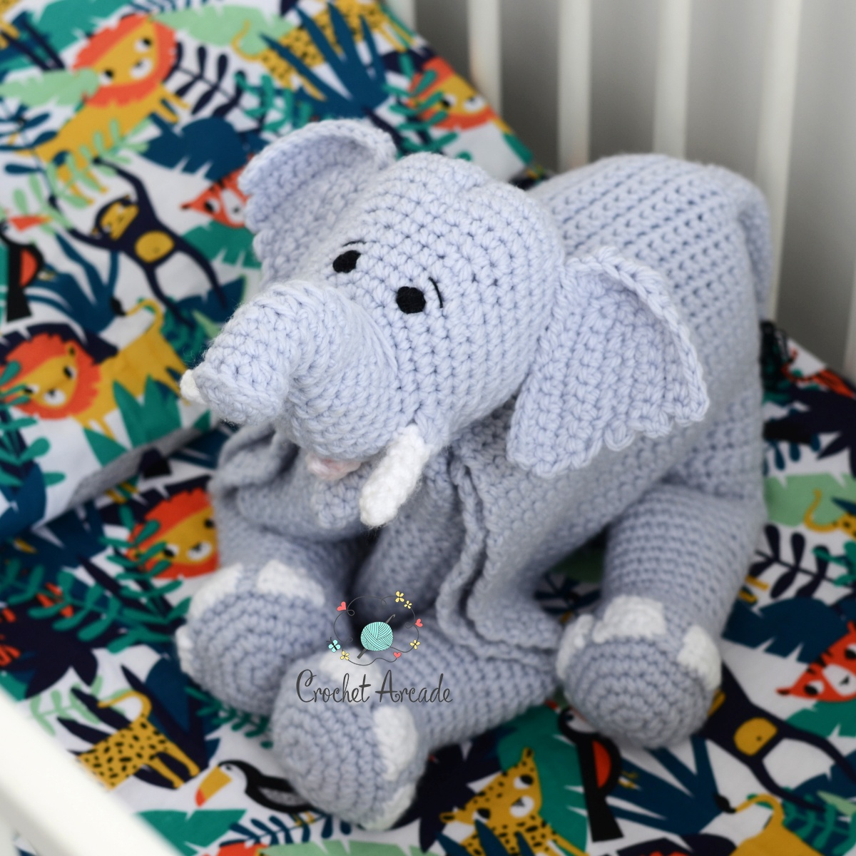 Elephant Baby Car Seat Covers Print City Crochet Cover Pattern For ... | 1200x1200